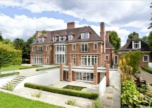 The Mansion currently for sale in Hamstead Heath, with Knight Frank for £40,000,000.